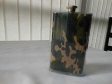 Camouflage Wrap 5 oz Flask