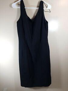 Sheri Martin Womens New With Tags Sleeveless Dress Black Size 12