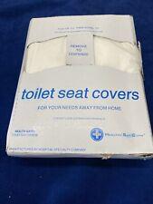 Hospeco Disposable Flushable Paper Toilet Seat Cover 1 Pack 200Sheets Per Pack