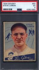1934 Goudey #92 Steve Larkin Tigers PSA 5 *694438