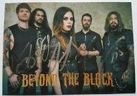 ⭐⭐⭐⭐ Beyond The Black ⭐⭐Orig. Autogramm Jennifer Haben ⭐⭐ Autogrammkarte ⭐⭐⭐⭐