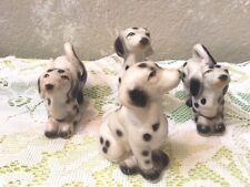 4 Ceramic Dalmatians, Free Shipping