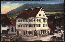AK-Gönningen-Gasthaus zum Adler-Gaststätte-Verlag-Gebr.Metz-