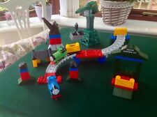 Thomas Tank - Mega Bloks Cranky At The Docks With Thomas & Percy Trains Playset
