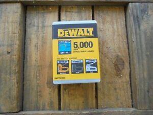 Box of 5,000 x DeWALT Heavy Duty Staples 3/8``/ 10mm