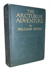 1926, 1st, SIGNED, ARCTURUS ADVENTURE, by WILLIAM BEEBE, ZOOLOGY, OCEANOGRAPHY