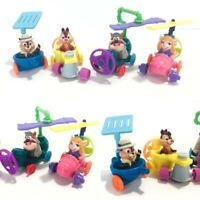 Vintage McDonald's Happy Meal Toys Chip N' Dale Rescue Rangers Lot of 4 Toys 061