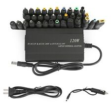 120W Car Home 34 Tips Power Supply Adapter Charger for Laptop Notebook Us Plug