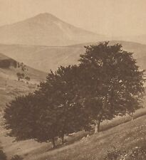 G1499 France - La face nord du Puy-Mary et le Pas de Peyrol - 1937 vintage print