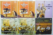 KINGSTON TRIO FOLK LP's LOT OF 11 #1587