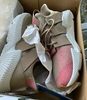 MEN'S ADIDAS ORIGINALS CQ2128  PROPHERE SNEAKERS KHAKI/WHITE/PINK SHOES