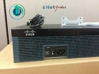 Cisco CISCO2921/K9 • 2921 Gigabit Router ■ 1 YEAR WARRANTY • SAME DAY SHIPPING ■