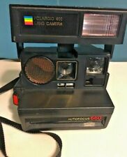 Rainbow POLAROID Land Camera Sun 660 AutoFocus 600 Film 1980's Vintage