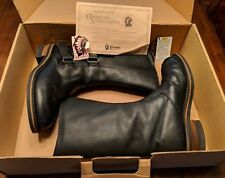 "Chippewa USA 12"" Oddessa Rally 27862 MENS Black Motorcycle Boots, Size 8 1/2 EE"