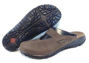 Womens Dunham 8040 BR Brown Desert Willow Clog Outdoor Sandals Shoes