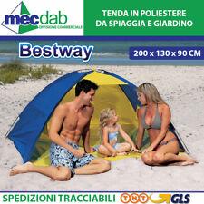 Tenda Spiaggia e Campeggio 2 Posti Telo in Poliestere Bestway 67278