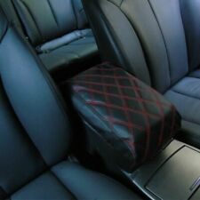 For Cover Center 2006-2013 Honda Armrest Console Leather PU Black Civic Red