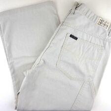 95fce6f493 Harley Davidson Motors Mens Size 36x26 White Beige Carpenter Pants Straight