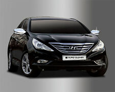 New Chrome Side Mirror Cover Garnish Molding Trim B630 for Hyundai Sonata 11-14