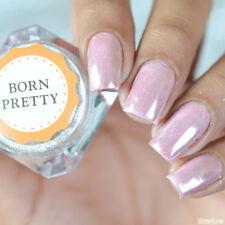 0.5G Born Pretty Mirror Silver Nail Powder Dust Shinning Chrome Pigment Tips