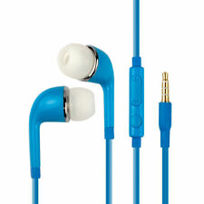 In-Ear Stereo Headset Earphone Earbud Headphone For Samsung iPhone Android Blue