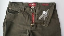LUCKY BRAND 361 Vintage Straight Men's 34X33 Jeans Green Classic