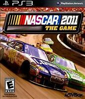 NASCAR The Game 2011 Sony PlayStation 3 PS3 Complete CIB Tested Black Label