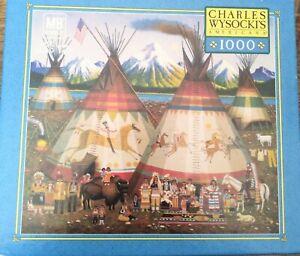 Charles Wysocki's Americana 1000 Piece Puzzle THE AMERICANS 2005