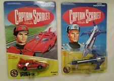 New Captain Scarlet Diecast Spectrum car & Jet Liner By Vivid Imaginations NM