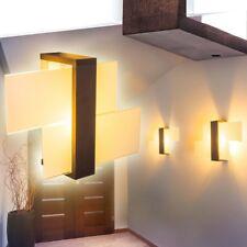 Lampada da Parete Illuminazione Interno Scale Applique Murale Luce Salotto Legno