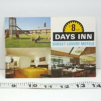 Vintage Postcard Days Inn Warner Robins Georgia