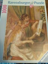 Ravenburger Renoir Young Girls at the Piano 1000 piece puzzle complete