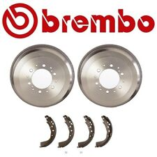 Rear Brake Drums and Shoes Set Kit Brembo For Toyota 4Runner T100 Tacoma Tundra