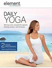 BRAND NEW IN PLASTIC ELEMENT DVD DAILY YOGA  EXCERCISE MOVIE TV