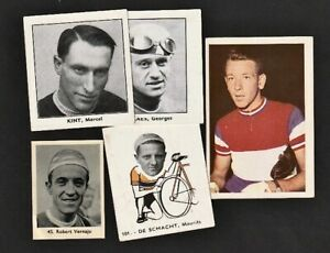 Cycling Claes Kint Maliepaard De Schacht: Belgian Chewing Gum card lot: cyclisme