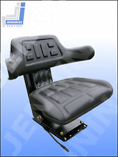 Tractor Roller Dumper Boat Mower Trike Suspension Seat Angular Base adjustment!