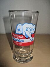 1972 REPUBLICAN NAT'L CONVENTION SAN DIEGO *WELCOME REPUBLICANS* GLASS. NOS.