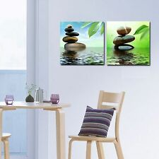 Modern Wall Painting. Gallery Wrap, ready to hang. 2 Panels Special 20% Off