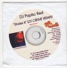 (EZ831) DJ Papito Red, Shake It - 2005 DJ CD