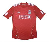 Liverpool 2010-12 Authentic Home Shirt (Very Good) M Soccer Jersey