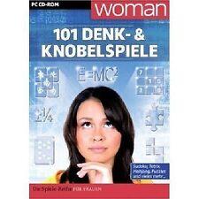 WOMAN: 101 di pensare & Puzzle-PC CD-ROM-NUOVO & OVP