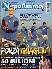 Napolissimo.Fabio Cannavaro, Antonio Di Natale, Marco Borriello & Quagliarella,i
