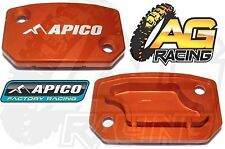 Apico Orange Front Clutch Master Cylinder Cover For KTM XC-W 200 09-13 Brembo