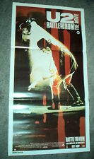 U2 RARE Rattle & Hum Original Australian CINEMA DAYBILL MOVIE POSTER