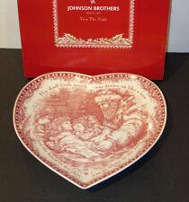 Johnson Brothers TWAS THE NIGHT **HEART DISH**  NEW / BOX