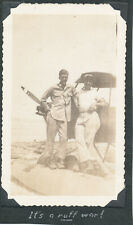 WWII 1945 USAAF 307th BG 424th BS Morotai Photo #21 small scout airplane