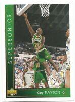 Gary Payton Upper Deck 1993/94 NBA Basketball Card #295