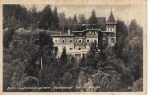 N.S.V. Jugenderholungsheim Riesengebirge Ober Schreiberhau  Postcards