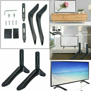 """Universal 32-65"""" TV Mount Bracket FLAT TV LCD Screen Table Stand For LG Vizio ZH"""