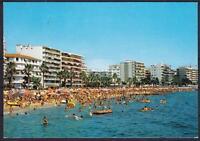 AK Juan Les Pins belebte Partie am Strand 1993, Hotels, Hochhäuser, La Plage